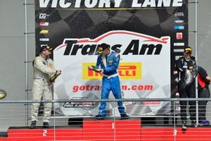 TA3 podium finishers Jason Daskalos, Ryan Dexter, and Marko Radisic