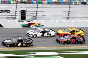 Kevin Harvick, Stewart-Haas Racing Ford, Brad Keselowski, Team Penske Ford, Joey Logano, Team Penske, Ford Mustang Shell Pennzoil