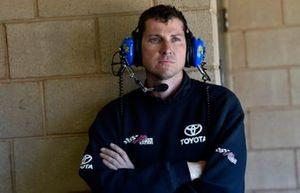Kyle Busch, Joe Gibbs Racing, Toyota Supra iK9 crew