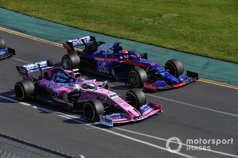 Ленс Стролл, Racing Point RP19, Данііл Квят, Toro Rosso STR14
