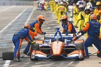 Скотт Диксон, Chip Ganassi Racing Honda пит--стоп