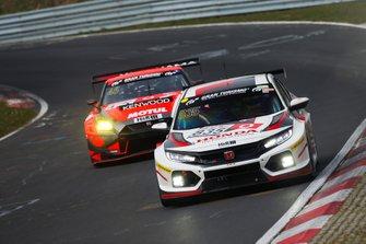 #835 Honda Civic TCR: Tiago Monteiro, Markus Oestreich, Dominik Fugel