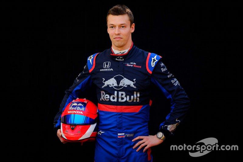 Daniil Kvyat tiene todas las papeletas para quedarse en la estructura de las bebidas energéticas, siendo más probable que se mantenga en Toro Rosso