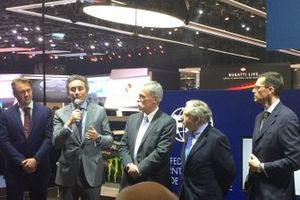 Alejandro Agag, Formula E CEO, Chase Carey, Formula 1 CEO, Jean Todt, FIA President