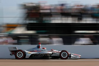 Le poleman Will Power, Team Penske Chevrolet