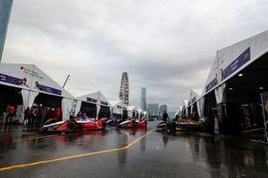 Pascal Wehrlein, Mahindra Racing, M5 Electro, Jérome d'Ambrosio, Mahindra Racing, M5 Electro, Andre Lotterer, DS TECHEETAH, DS E-Tense FE19
