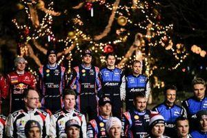 Andreas Mikkelsen, Anders Jæger, Hyundai Motorsport Hyundai i20 Coupe WRC, Teemu Suninen, Mikko Markkula, M-Sport Ford WRT Ford Fiesta WRC