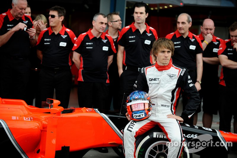 #22 Charles Pic, Marussia