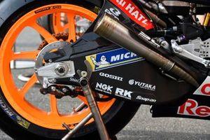 Repsol Honda Team, dettaglio della moto