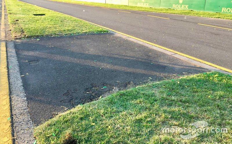 Lokasi Daniel Ricciardo kehilangan sayap depan