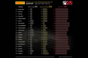 Choix de pneus pour Sakhir