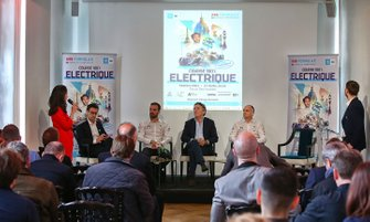Press conference e-Prix Paris atmosphere