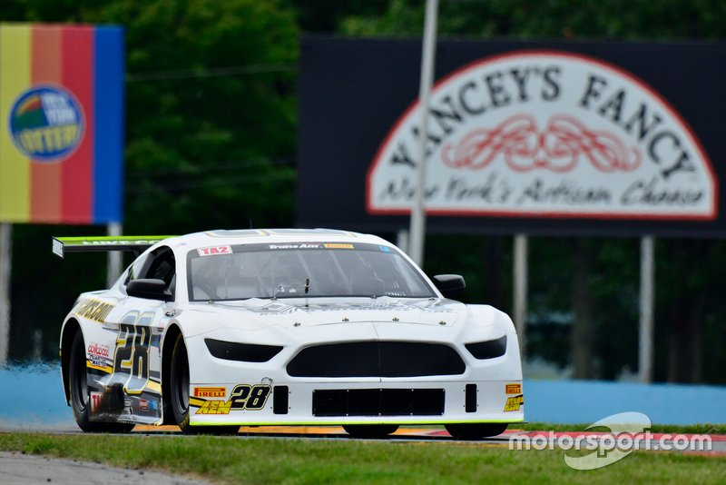 #28 TA2 Ford Mustang driven by Tony Buffomante of Mike Cope Racing