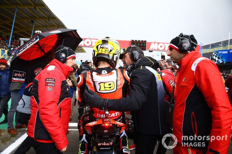 Alvaro Bautista, Aruba.it Racing-Ducati Team with Pirelli tech
