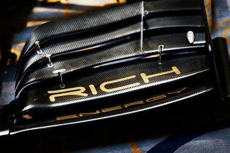 Des logos Rich Energy sur la nouvelle livrée Haas