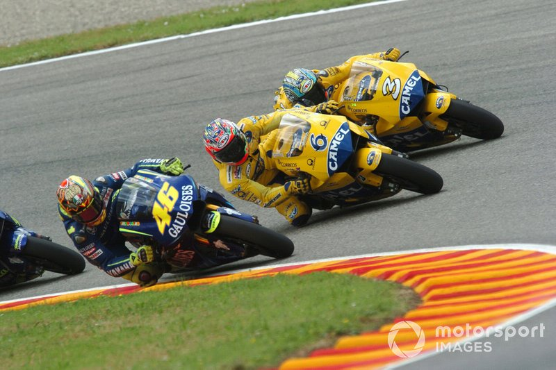 Valentino Rossi, Yamaha Factory Team, Makoto Tamada, Max Biaggi, Honda