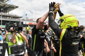 Ganador Simon Pagenaud, Team Penske Chevrolet
