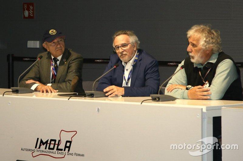 Jo, Ramirez, Franco Nugnes, Direttore di Motorsport.com Italia, e Angelo Orsi