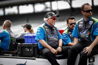 Pippa Mann, Clauson-Marshall Racing Chevrolet, crew
