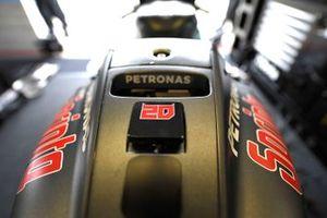 Une moto de Petronas Yamaha SRT