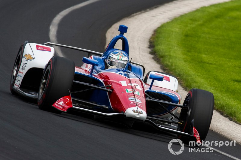 16. Tony Kanaan, A.J. Foyt Racing Chevrolet