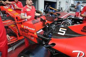 Ferrari dettaglio ala posteriore