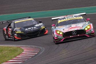 #4 Goodsmile Racing & Team Ukyo Mercedes AMG GT3: Nobuteru Taniguchi, Tatsuya Kataoka