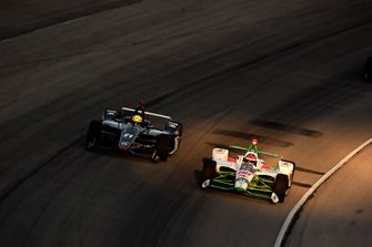 Colton Herta, Harding Steinbrenner Racing Honda, Spencer Pigot, Ed Carpenter Racing Chevrolet
