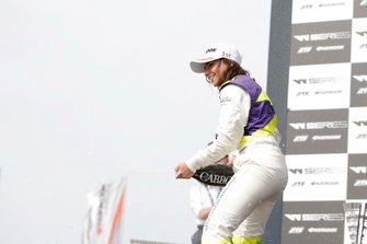 Race winner Jamie Chadwick