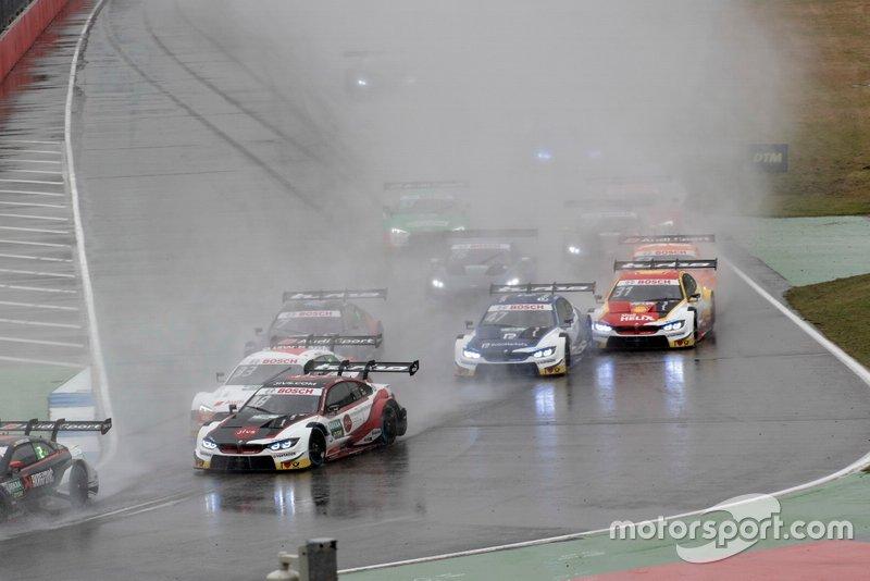 Timo Glock, BMW Team RMG, BMW M4 DTM, alla partenza