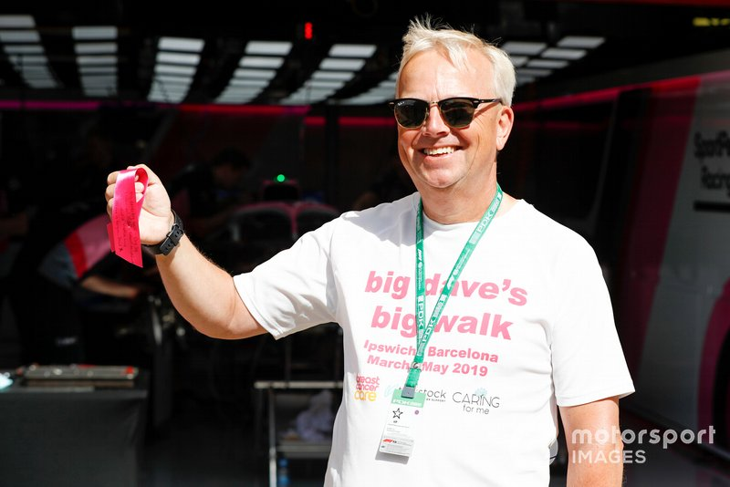 Big Dave's Big Walk for Charity
