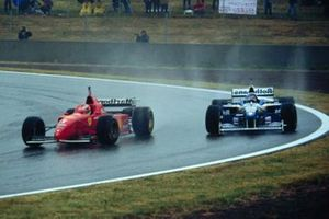 Michael Schumacher, Ferrari, Jacques Villeneuve, Williams