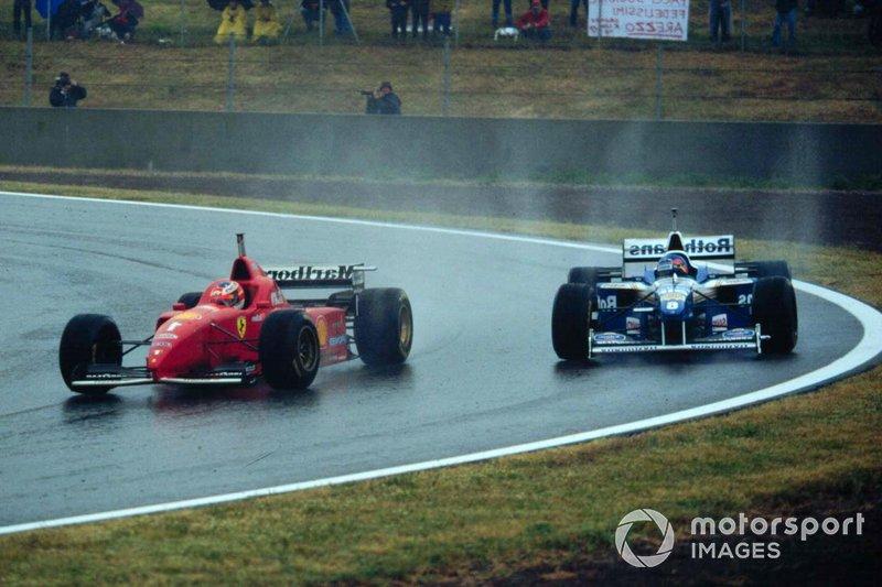 Michael Schumacher, Ferrari, Jacques Villeneuve, Williams