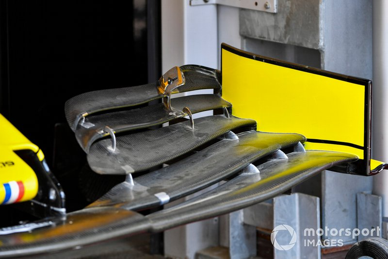 Front wing of the Renault R.S.19