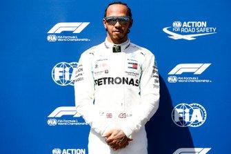 Pole man Lewis Hamilton, Mercedes AMG F1