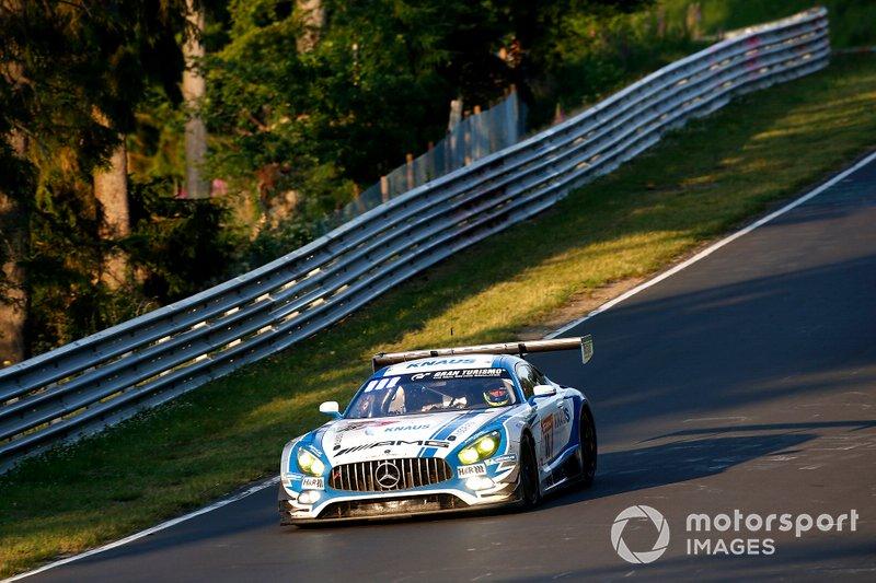 #18 Mercedes-AMG GT3, GetSpeed Performance: Fabian Vettel, Philip Ellis, Luca Ludwig