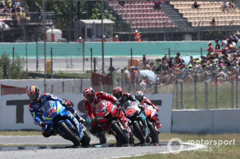 Как и на Гран При Испании, на четырех первых местах на финише расположились представители четырех разных производителей: Honda, Yamaha, Ducati, Suzuki