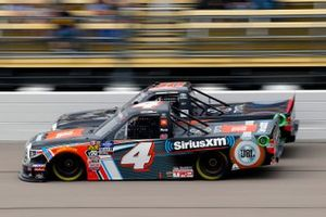 Todd Gilliland, Kyle Busch Motorsports, Toyota Tundra JBL/SiriusXM and Brennan Poole, On Point Motorsports, Toyota Tundra