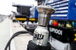 Un pistolet pneumatique d'Alexander Rossi, Andretti Autosport Honda