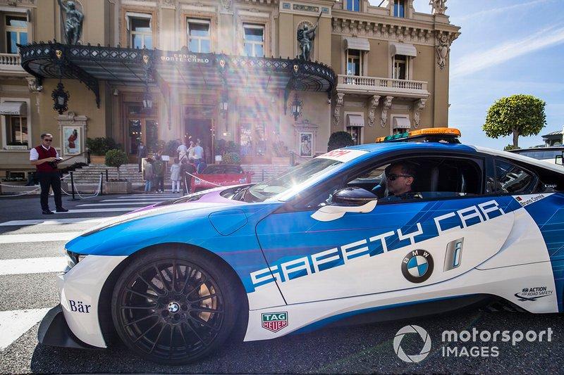 BMW i8 Coche de seguridad conducido por Bruno Correa