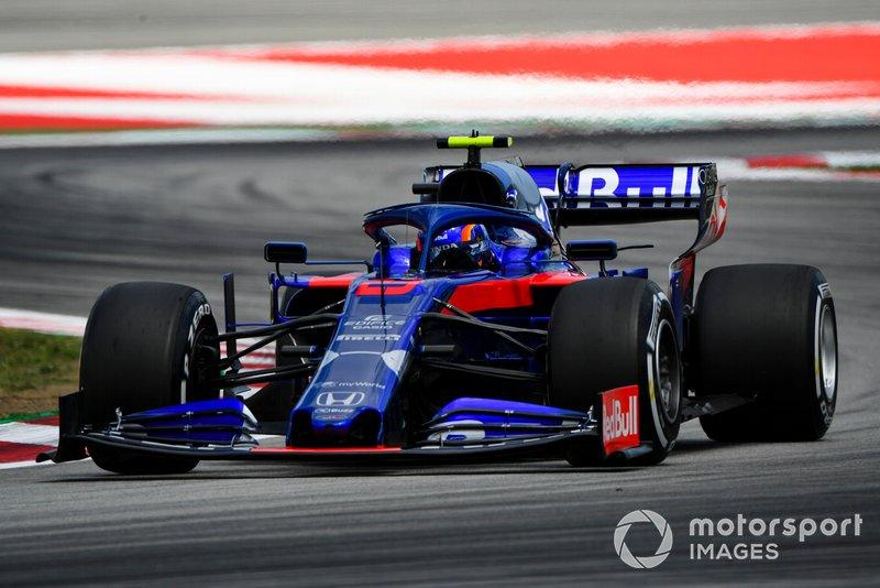 11 місце — Александер Албон, Toro Rosso. Умовний бал — 8,92