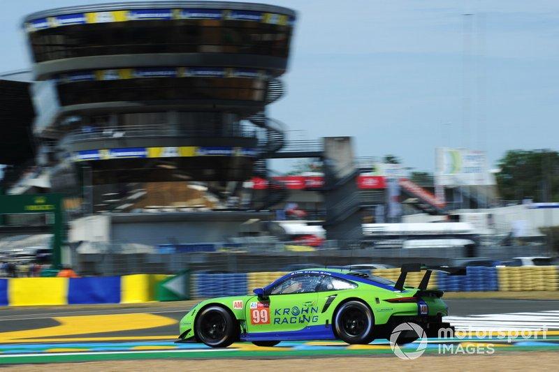 GTE-Am: #99 Dempsey-Proton Racing, Porsche 911 RSR *