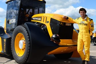 Guy Martin and his record-setting tractor