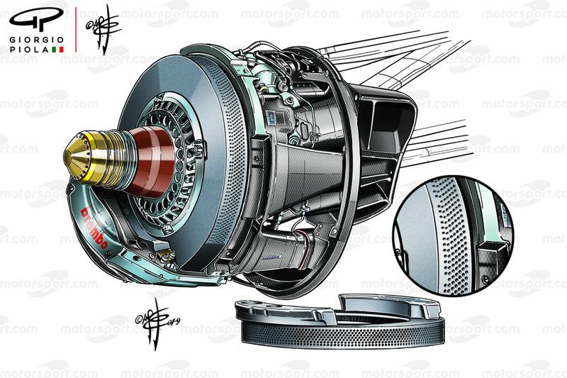 Red Bull RB15 brembo caliper