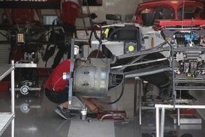 Alfa Romeo Racing C38, dettaglio del cestello del freno anteriore