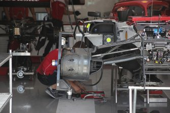 تفاصيل مكابح سيارة ألفا روميو سي38