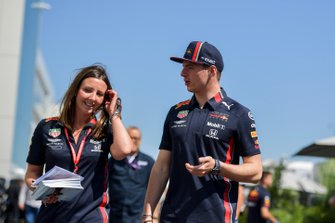 Max Verstappen, Red Bull Racing in the paddock