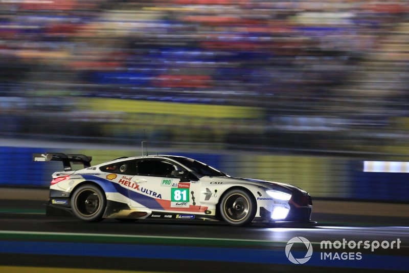 #81 BMW Team MTEK BMW M8 GTE: Martin Tomczyk, Nicky Catsburg, Martin Tomczyk, Philipp Eng