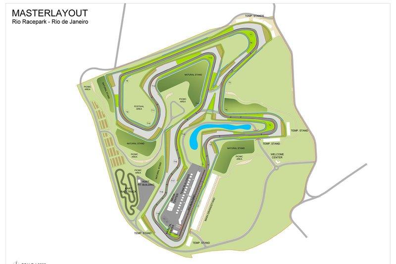 Rio Racepark proposed design