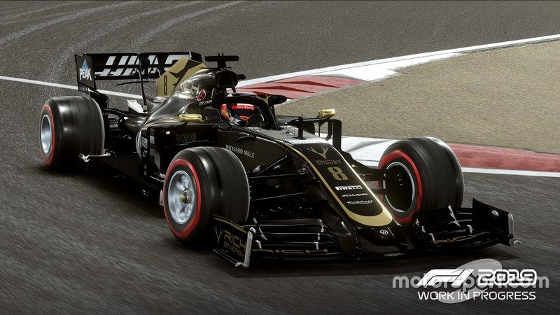 Haas de Romain Grosjean